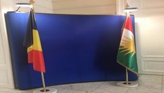 Kürdistan heyetinin Belçika turunda bir ilk yaşandı