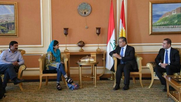 Malala Yusufzay: Kürdistan'da bulunmaktan mutluluk duyuyorum