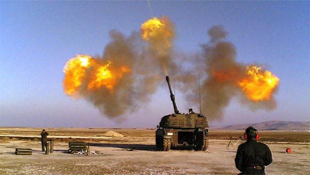 TSK'den Efrin'e bombardıman