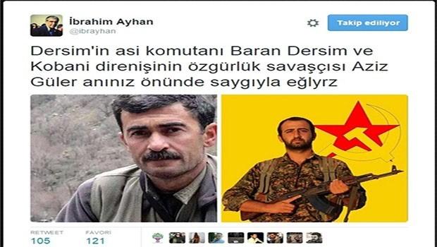 HDP'li vekile 'propaganda'dan hapis cezası
