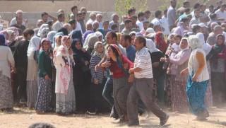 5 işçi Suruç'ta toprağa verildi