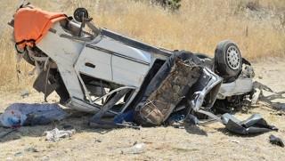 Mardin'de Trafik Kazası: 3 Ölü, 1 Yaralı