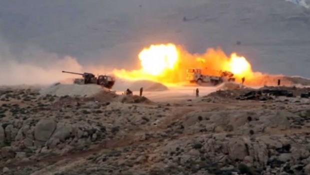 Suriye'de sınırda üçlü ittifak