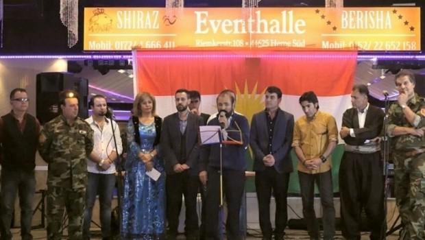 Diaspora Kürtlerinden bağımsızlık referandumuna destek sürüyor