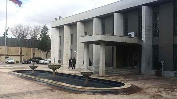 Rusya'nın Şam Büyükelçiliği'ne havan saldırısı