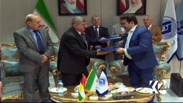 Kürdistan ile İran arasında ticari anlaşma