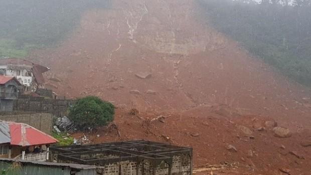 Sierra Leone'de toprak kayması: 180 ölü