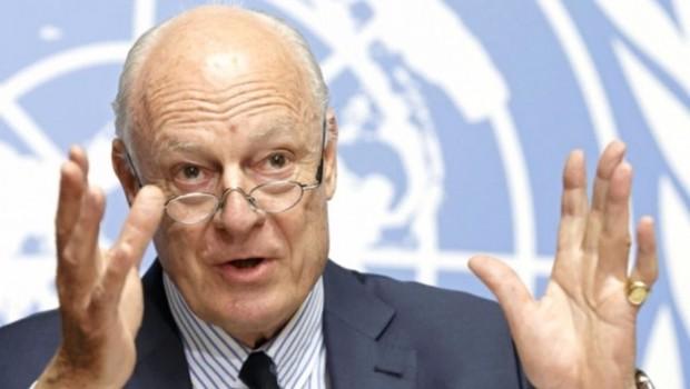 Mistura'dan Suriye görüşmeleri açıklaması