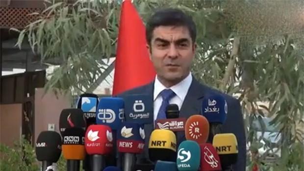Rebwar Talabani: 25 Eylül'de de Bağdat'a gereken cevabı vereceğiz