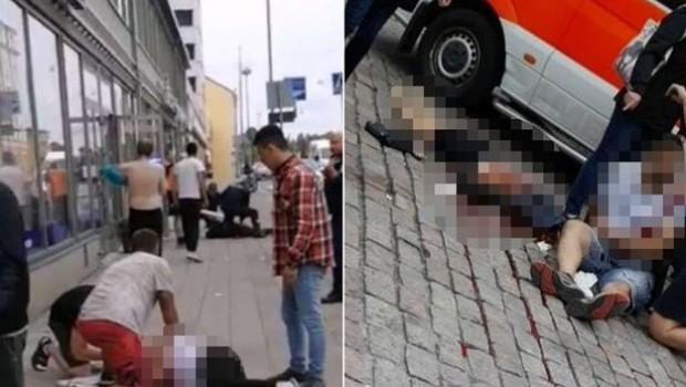 Rusya'da bıçaklı saldırı: Çok sayıda yaralı var