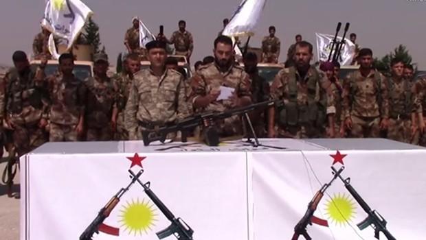 Şehba bölgesinde yeni bir askeri grup kuruldu