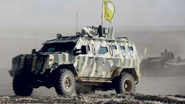 ABD'den QSD'ye 60 TIR'la ağır silah zırhlı araç