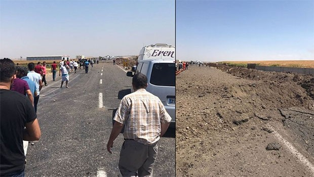 Diyarbakır'da patlama: Yaralı askerler var...