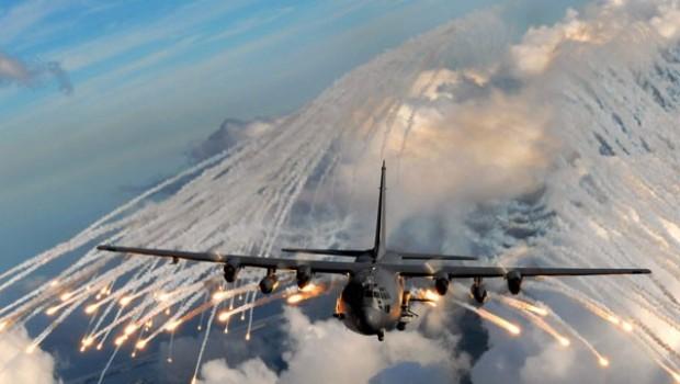 Rus uçakları, IŞİD araçlarını bombaladı