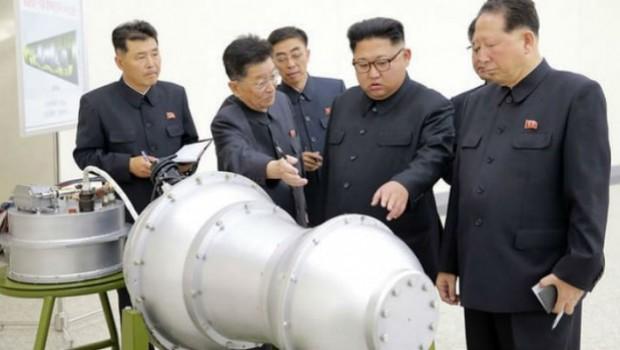 Kuzey Kore durmuyor: Hidrojen bombası ile yapay deprem...