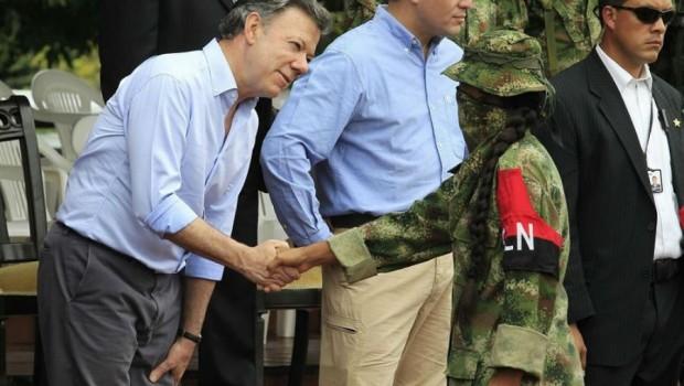 Kolombiya hükümeti ve ELN ateşkes imzaladı