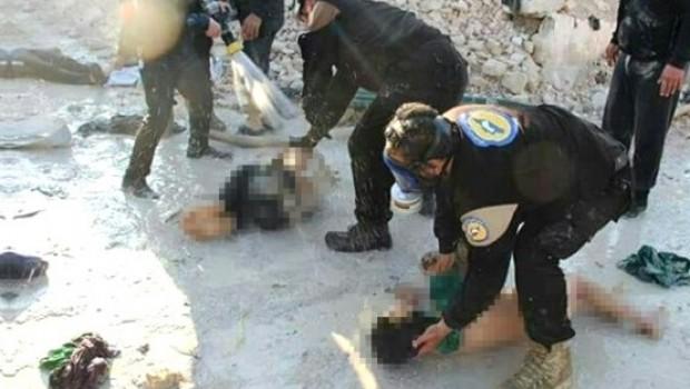 BM Suriye'de kimyasal silah kullanıldığını açıkladı