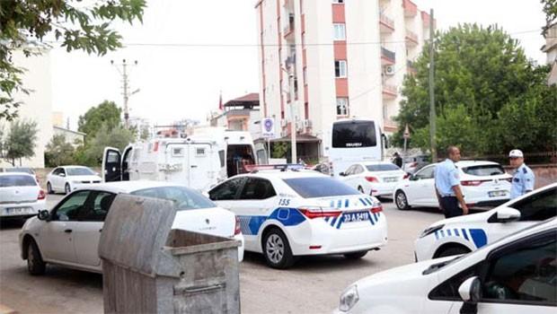 Mersin'de Polis merkezine saldırı girşimi