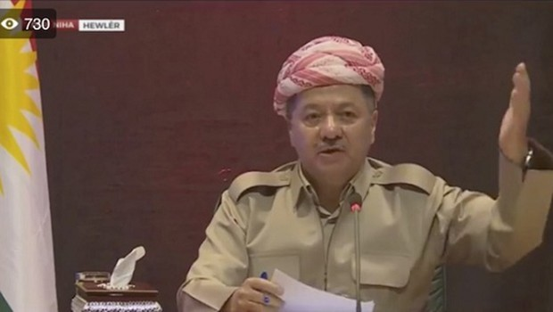 Başkan Barzani: Sandıktan 'Evet' Çıkması Bağımsızlığın ilanıdır