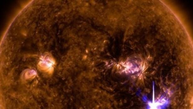 Güneş'te çok büyük bir patlama daha meydana geldi