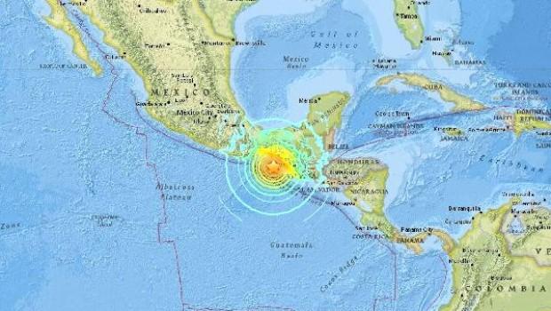 Meksika'da 8 Büyüklüğünde Deprem!