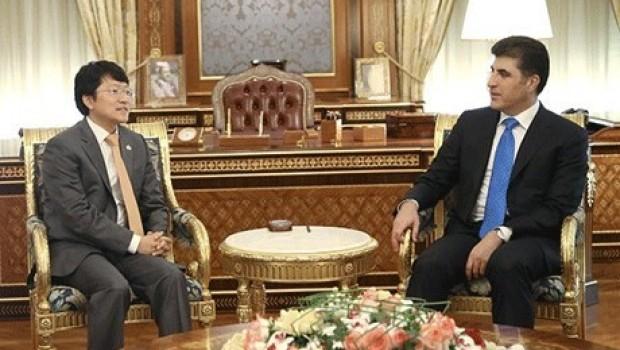 Güney Kore devlet başkanından Başbakan Barzani'ye mektup