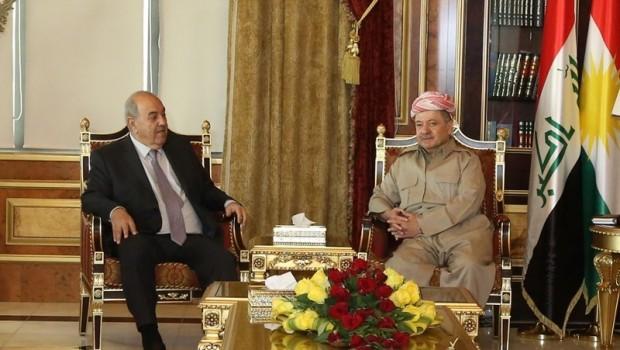 Başkan Barzani, İyad Alavi'yi kabul etti
