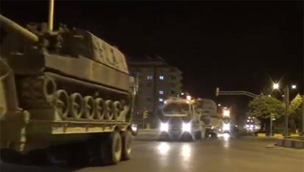 TSK'den Efrin sınırına askeri sevkiyat