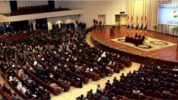 Kürt parlamenterlerden Irak Parlamentosu oturumuna protesto