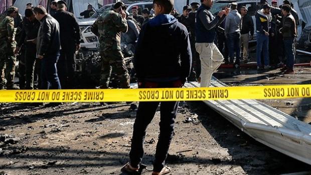 Irak'ta çifte bombalı saldırıda ölü sayısı 74'e yükseldi