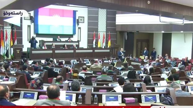 Kürdistan Parlementosu 'Ey Reqip' eşliğinde açıldı