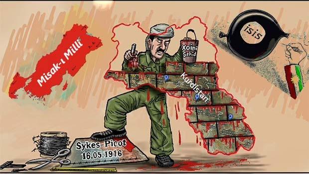 Yüzyıllık Sykes-Pkot Esareti ve Bağımsızlık Referandumu !