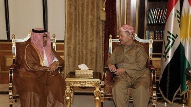Arabistan'dan Kürdistan'a üst düzey ziyaret