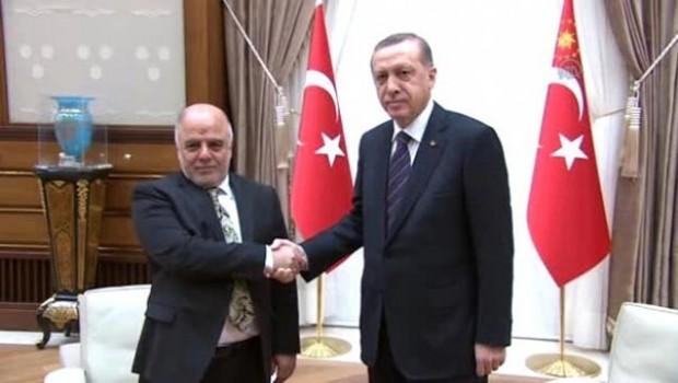 Erdoğan Abadi ile referandumu görüştü