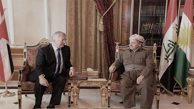 İngiltere'den Kürdistan'a kritik ziyaret!
