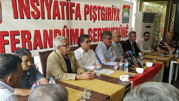 Referandum Konferansına Getirilen Yasak Protesto Edildi