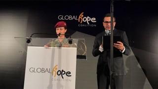 BM'den kadın Peşmerge Koçer Doski'ye ödül!