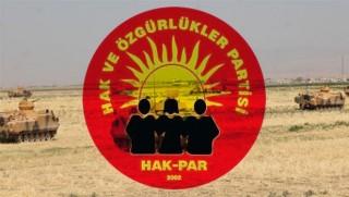 Hak-Par: Türkiye, hasmane tutumundan vazgeçmeli