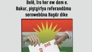Kuzey, Güney'in Bağımsızlık Referandumunu Destekliyor !