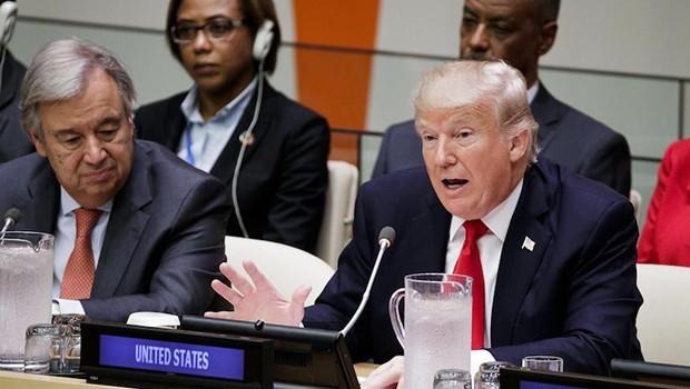 Trump: İran ve Kuzey Koreyi uyardı