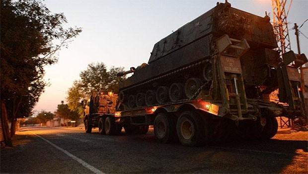 TSK'nin sınıra askeri sevkiyatı sürüyor
