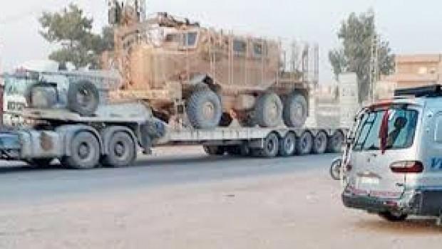 ABD'den YPG'ye silah konvoyu... Bu kez Mrap'da var!