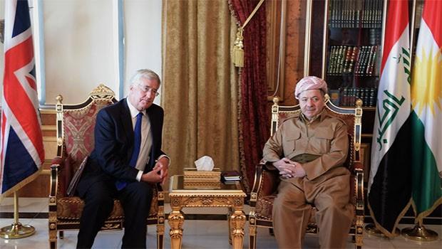 İngiltere'den Başkan Barzani'ye mektup