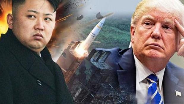 Kuzey Kore'den inanılmaz tehdit: 'Alev denizine çeviririz'