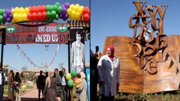 Mehmet Uzun Parkı'nın tabelası indirildi