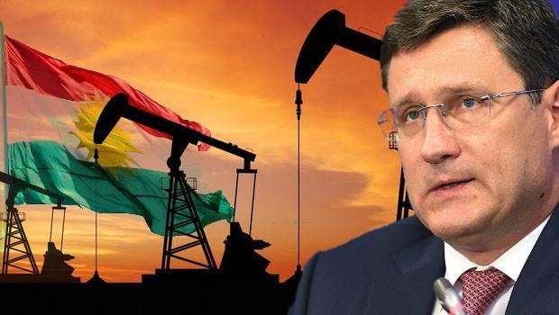 Rusya Enerji Bakanı: Gazprom, Kürdistan'daki projelerini sürdürüyor