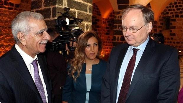 AB heyetinden Ahmet Türk'e 'Kürdistan referandumu' ziyareti