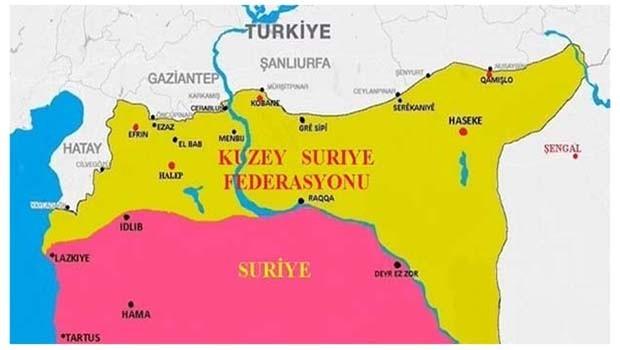 YPG heyeti, Rusya ile federal sistemi görüştü