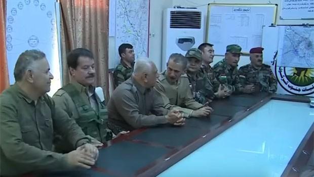 Peşmerge Komutanlarından Kerkük'te toplantı
