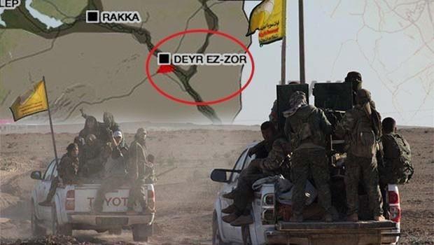 Suriye rejimi QSD mevzilerine saldırdı